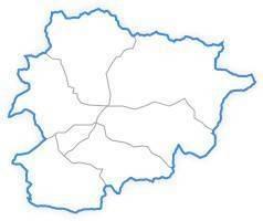 Mapa d'Andorra