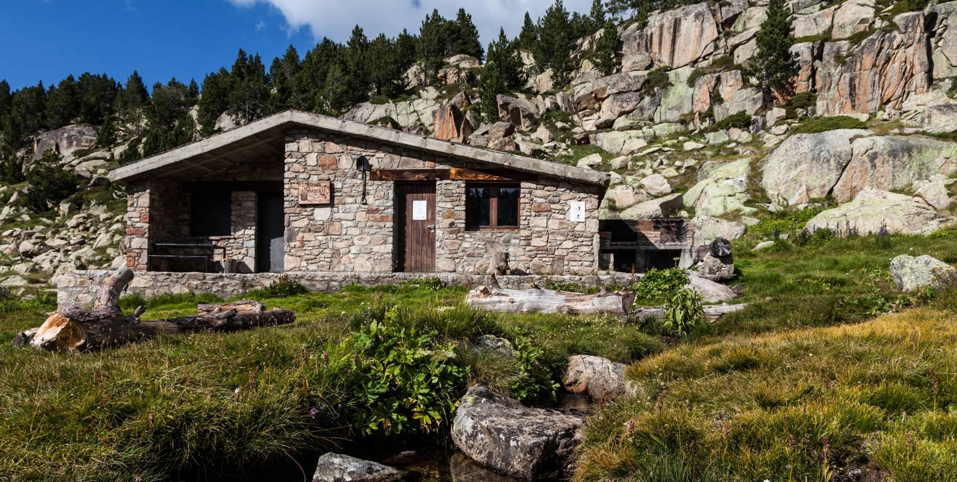 mountain huts in andorra