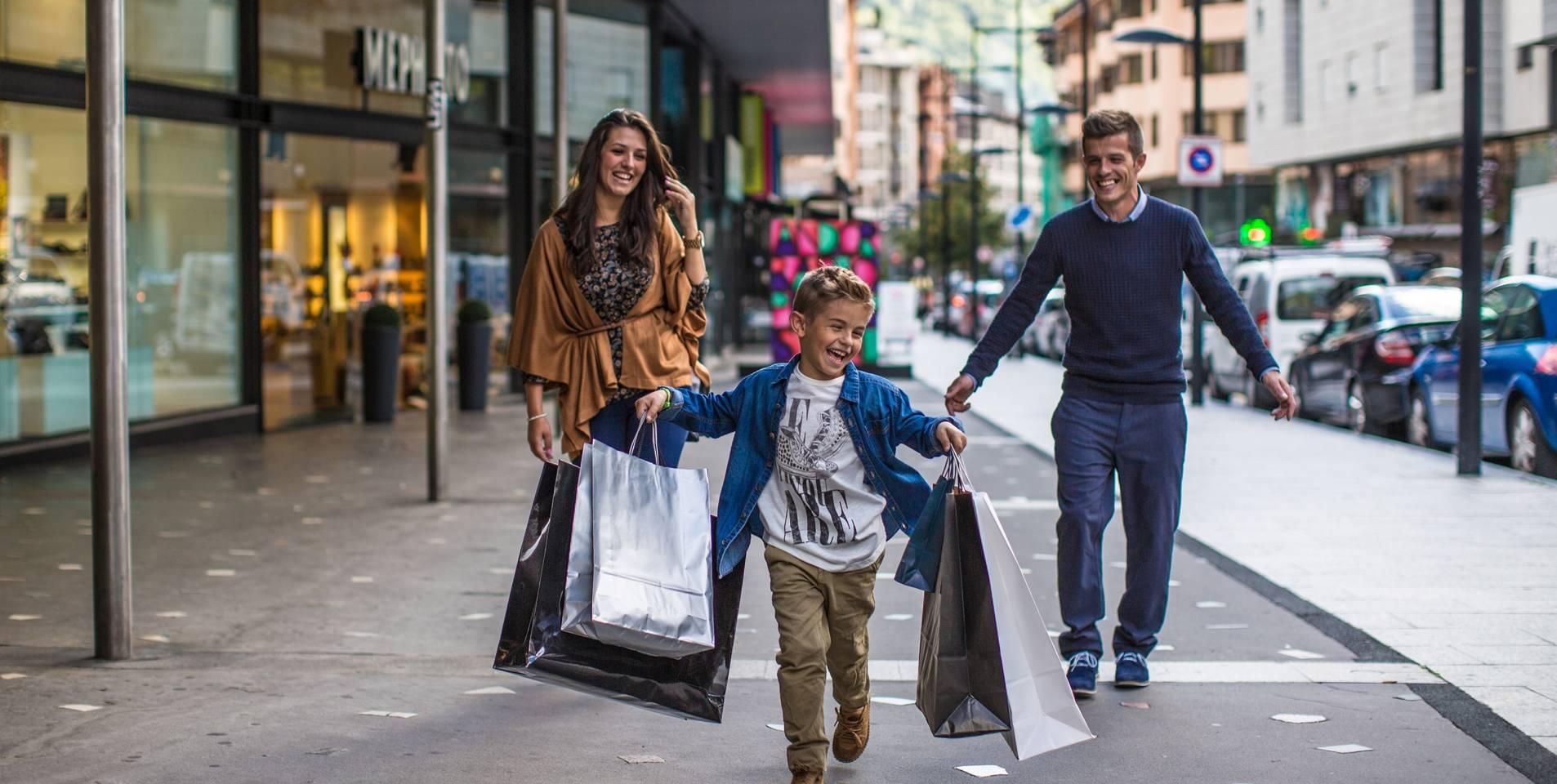 Enjoy the Shopping Mile, Andorra's great shopping zone