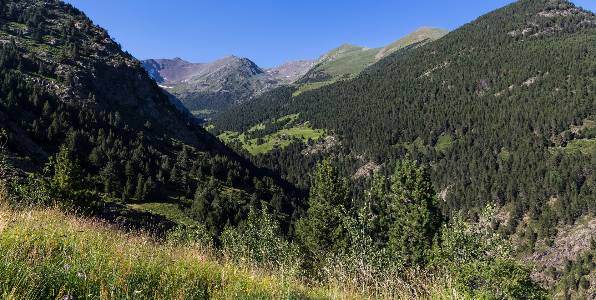 Op vakantie in de bergen